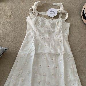 Princess Polly white floral dress